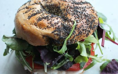 Vegan Cheese Bagel
