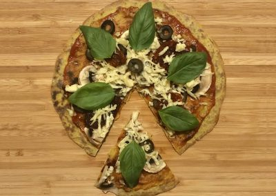 Vegan Quick Pizza