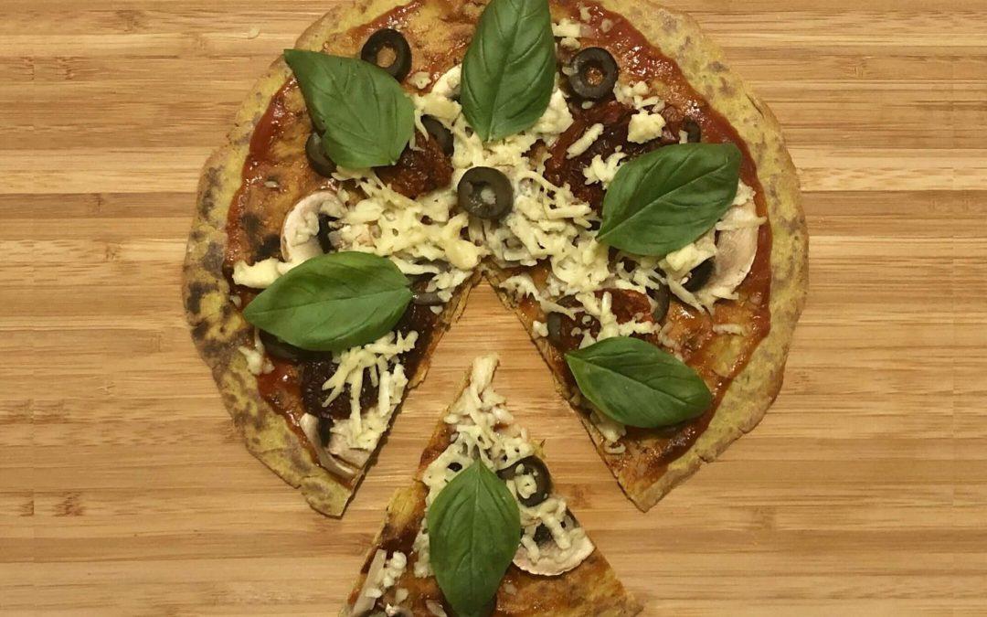 Vegan Quick Pizza