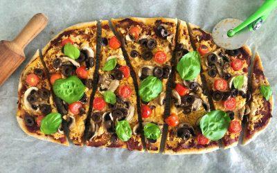 Vegan Long-Pizza