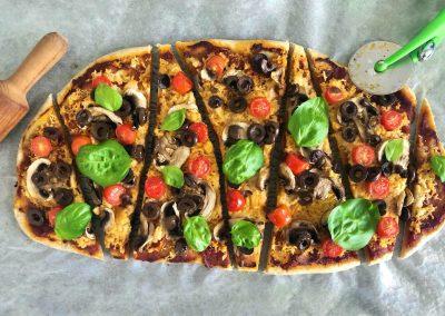 Vegan Long Pizza